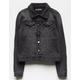 SCISSOR Wash Black Girls Denim Jacket