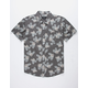 BRIXTON Charter Charcoal Mens Shirt