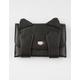 Hiding Cat Black Wallet