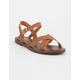 SODA Cross Strap Womens Sandals