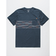 BILLABONG Team Stripe Mens Pocket Tee