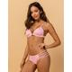 DAMSEL Strappy Side Ribbed Cheeky Bikini Bottoms
