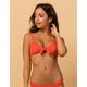 DAMSEL Pique Tie Front Bikini Top