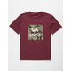 RVCA VA Camo Fill Boys T-Shirt