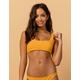 BILLABONG Ribbed Square Neck Bikini Top