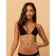 RIP CURL Classic Surf Moulded Black Bikini Top