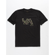RVCA Stencil VA Boys T-Shirt