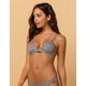 DAMSEL Gingham Bikini Top