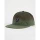 RVCA Dip Olive Mens Snapback Hat