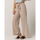 AMUSE SOCIETY Even Tides Womens Crop Pants