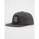 RVCA Charcoal Heat Mens Snapback Hat