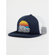 SAN ONOFRE SURF CO. Navy Mens Trucker Hat
