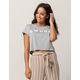 AMUSE SOCIETY Team Amuse Womens Crop Tee