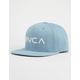 RVCA Twill II Denim Mens Snapback Hat