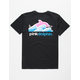 PINK DOLPHIN Wave Block Mens T-Shirt