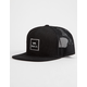 RVCA All The Way Black Mens Trucker Hat