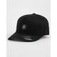 RVCA Flexfit Black Mens Hat