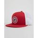 BRIXTON Forte Red Mens Trucker Hat
