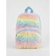 Rainbow Faux Fur Mini Backpack