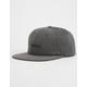 RVCA Tonally Black Haze Mens Strapback Hat
