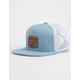 RVCA Denim Washed Blue Mens Trucker Hat