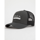 RVCA Reno Dark Grey Mens Trucker Hat