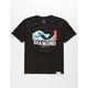DIAMOND SUPPLY CO. Big Wave Script Boys T-Shirt