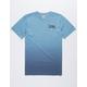 VOLCOM Dip Dye Blue Boys T-Shirt