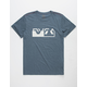 RVCA CO Brand Mens T-Shirt