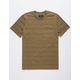 BRIXTON Hilt Wash Mens Pocket Tee