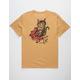 RVCA Tat Cat Mens Pocket Tee