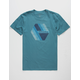 QUIKSILVER Retro Right Mens T-Shirt