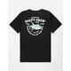 SALTY CREW Hotline Black Mens T-Shirt