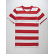 ELWOOD Rugby Stripe Mens T-Shirt