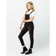 RSQ Ripped Black Womens Denim Overalls