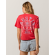 FULL TILT Austin Star Womens Crop Tee