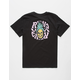 RVCA Pineapple Skull Boys T-Shirt