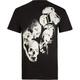 INFAMOUS Smokin Skull Mens T-Shirt