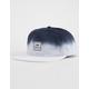 RVCA Dip White & Blue Mens Snapback Hat