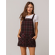 SKY AND SPARROW Plaid Wine Skirtall
