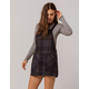 SKY AND SPARROW Plaid Navy Skirtall