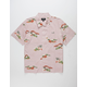 BRIXTON Lovitz Rose Mens Shirt
