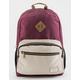 BENRUS Platoon Burgundy Backpack