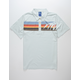 OCEAN PACIFIC Palm Chest Mens Polo Shirt