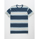 RVCA Oxnard Stripe Mens T-Shirt