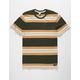 RVCA Oxnard Stripe Mens T-Shirt