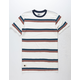 LIRA Traynor Stripe Mens T-Shirt