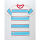 LIRA Spahn Stripe Mens T-Shirt