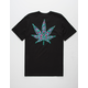 RIOT SOCIETY Ornate Leaf Mens T-Shirt