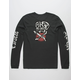 RVCA Double Skull Mens T-Shirt
